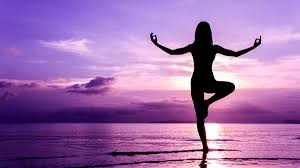 yoga purple